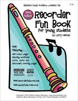 Recorder Fun Book